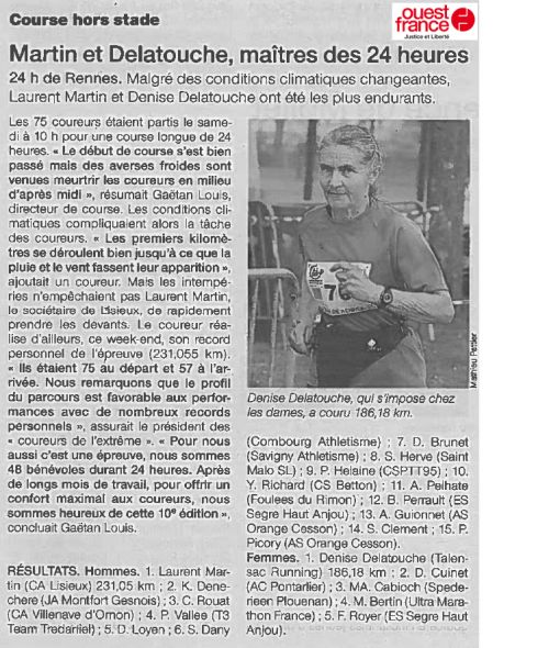 Article Ouest France 3/04/2017